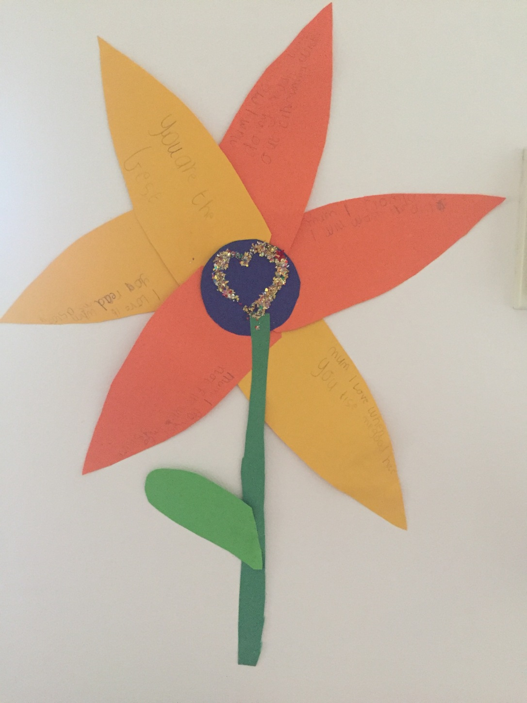 Flower-The-boy-made-for-Mother's day
